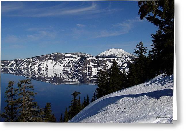 Crater Lake   Oregon Greeting Card