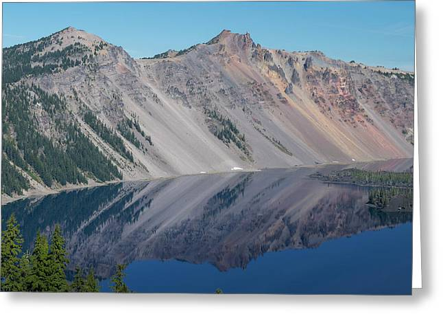 Crater Lake 2 Greeting Card by Frank Wilson