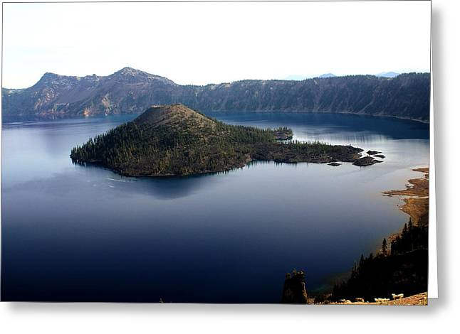 Crater Lake 2 Greeting Card by Marty Koch