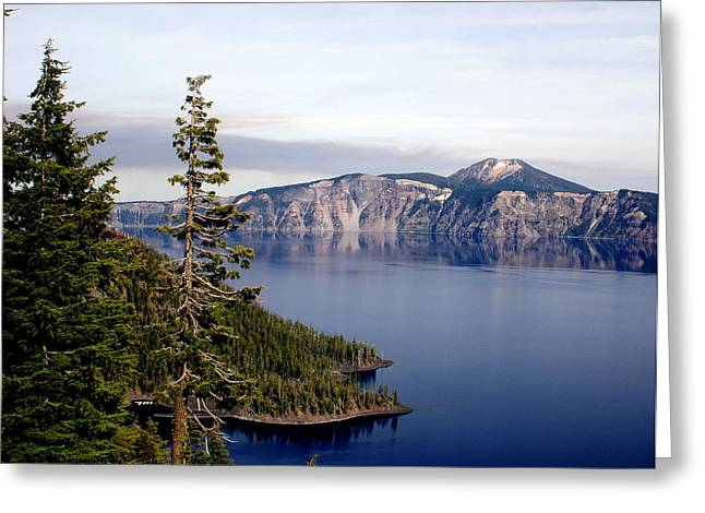 Crater Lake 3 Greeting Card by Marty Koch