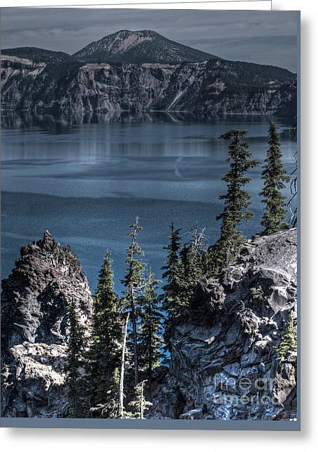 Crater Lake 4 Greeting Card