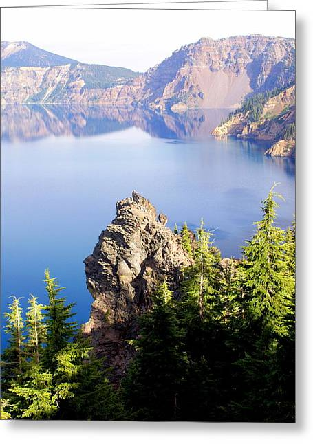 Crater Lake 4 Greeting Card by Marty Koch