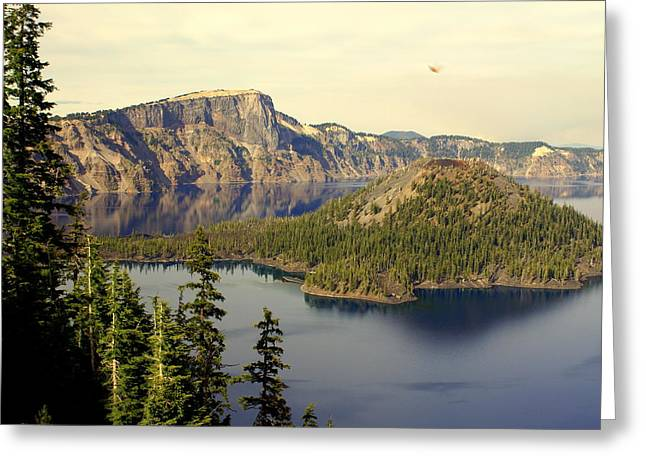 Crater Lake 6 Greeting Card by Marty Koch