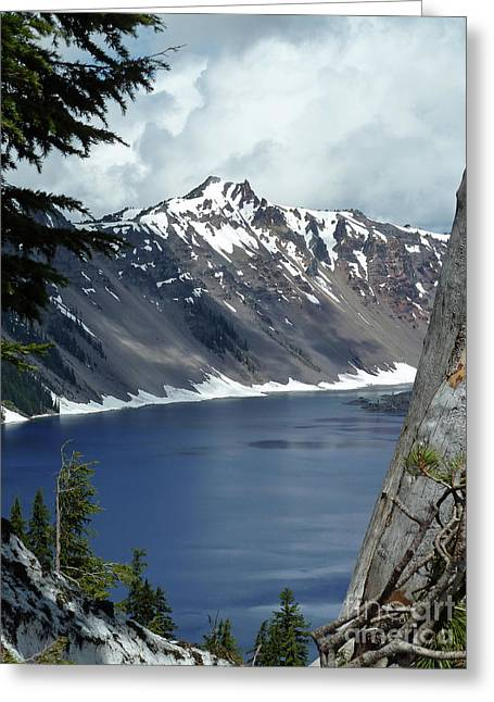 Crater Lake 6 Greeting Card by Methune Hively