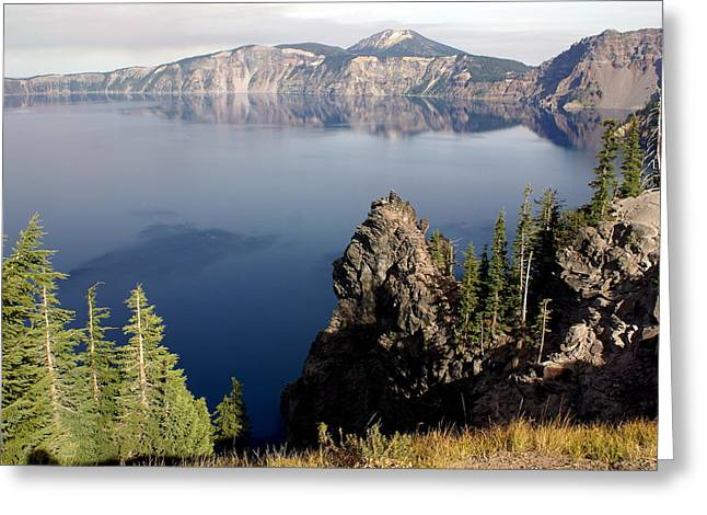 Crater Lake 7 Greeting Card by Marty Koch