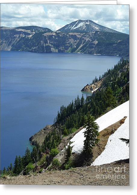 Crater Lake 8 Greeting Card by Methune Hively