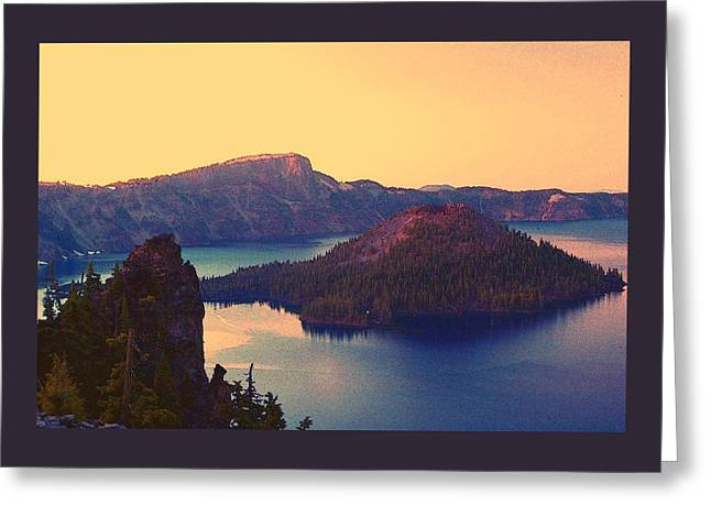 Crater Lake Greeting Card by Steve Warnstaff