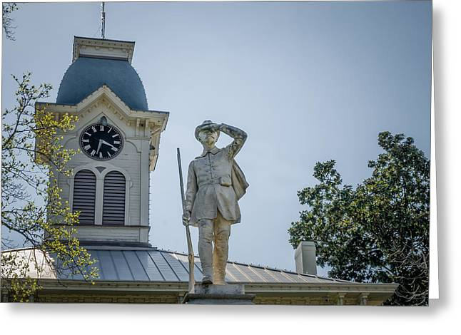 Crawford County Courthouse Greeting Card by James Barber