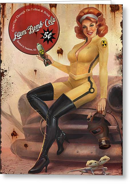 Crawl Out Through The Fallout Greeting Card