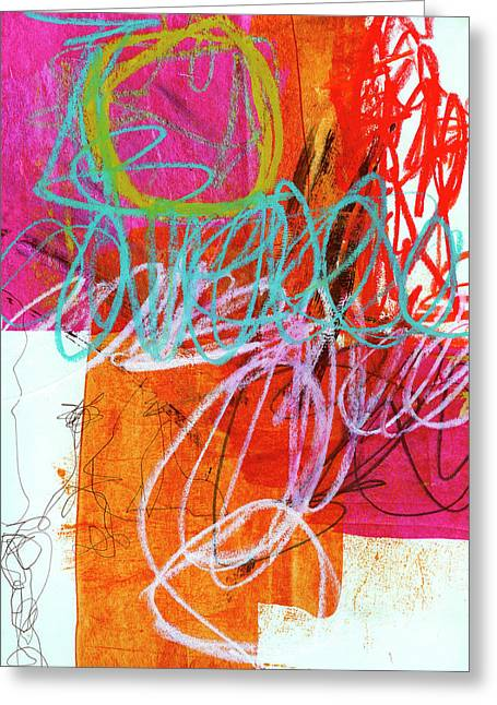 Crayon Scribble #7 Greeting Card