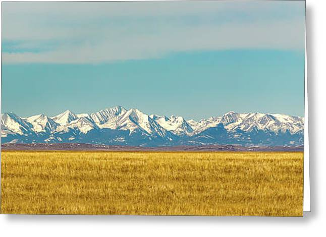 Crazy Mountains And Plains Greeting Card by Todd Klassy