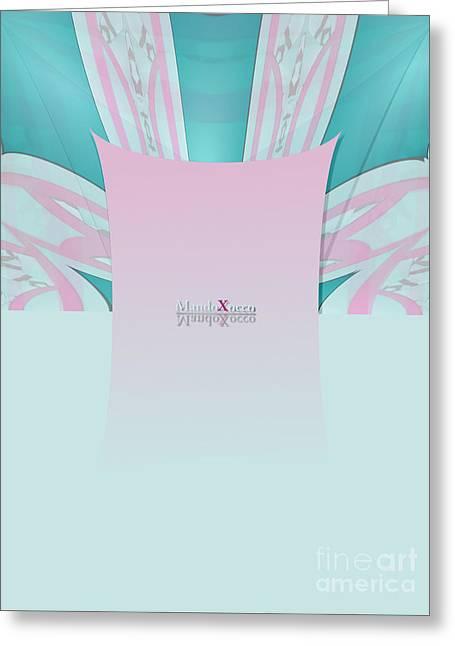 Cream Mint Greeting Card