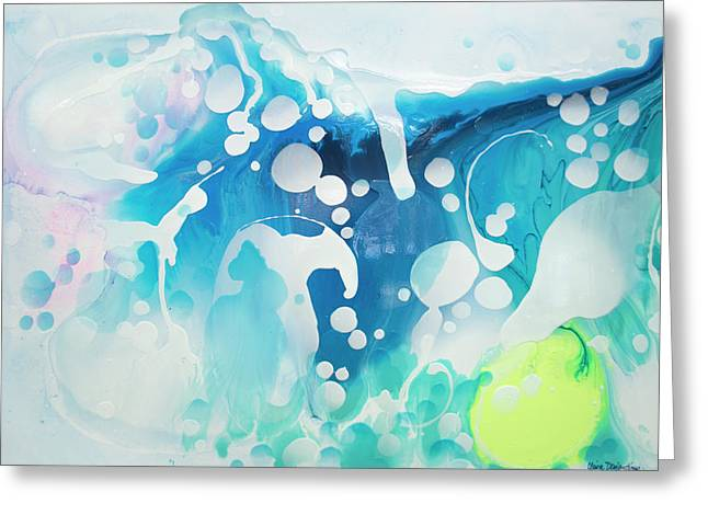 Create A Splash Greeting Card