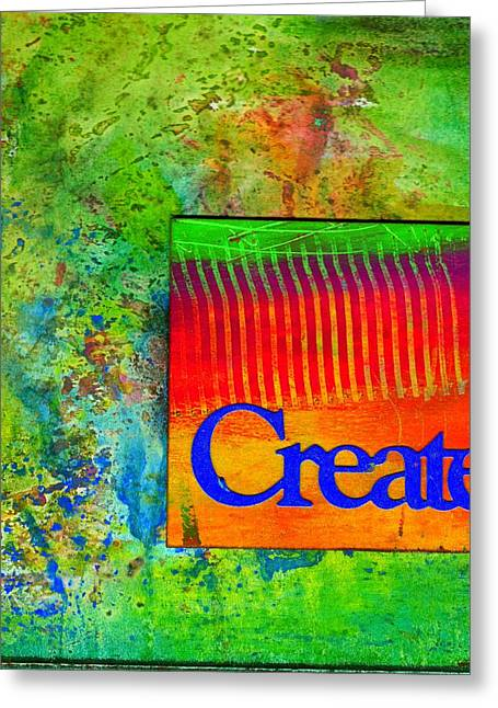 Create Greeting Card by Angela L Walker