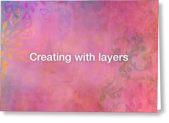 Creating With Layers On #ipad ..this Is Greeting Card