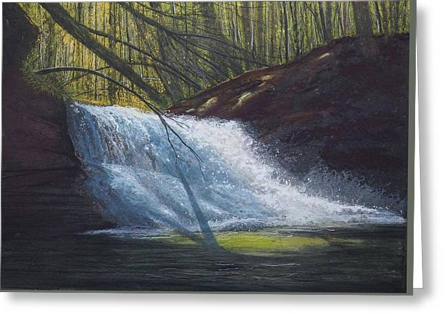 Creation Falls Greeting Card