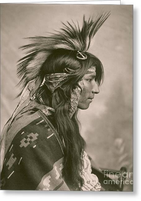 Cree Indian Greeting Card