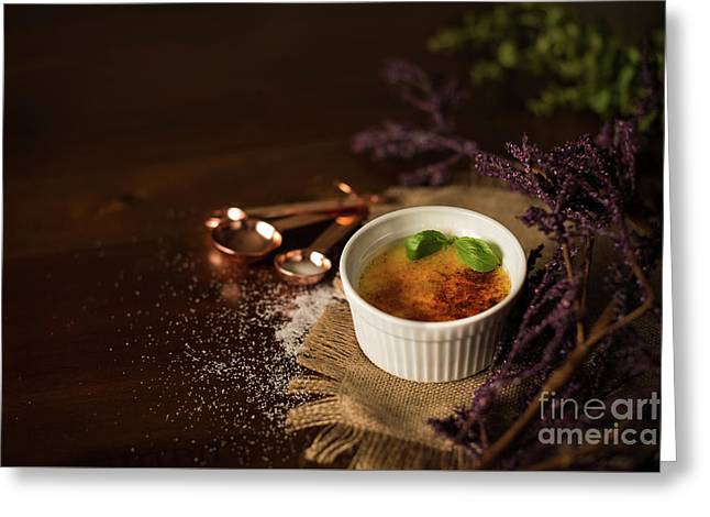 Creme Brulee  Greeting Card by Taylor Martinsen