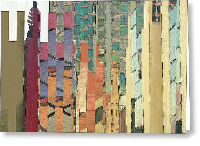 Crenellations Greeting Card