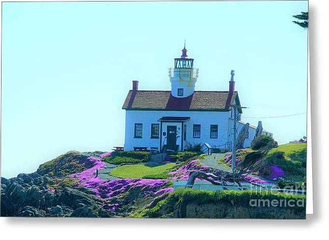 Crescent City Lighthouse Greeting Card
