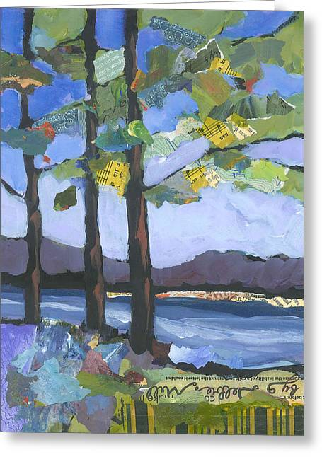 Crescent Lake Greeting Card