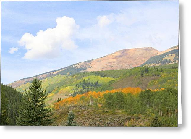 Crested Butte Greeting Card by Jessie Foster