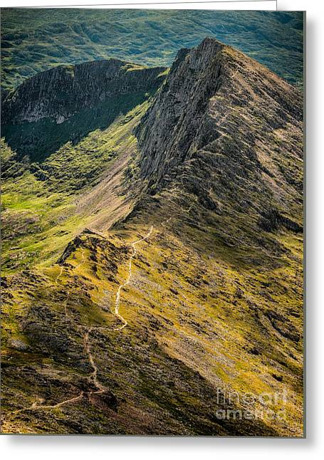 Crib Goch Greeting Card