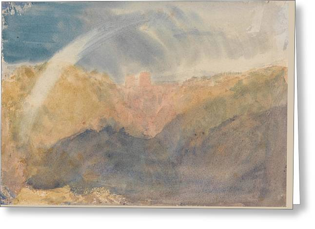 Crichton Castle Greeting Card by Joseph Mallord William Turner