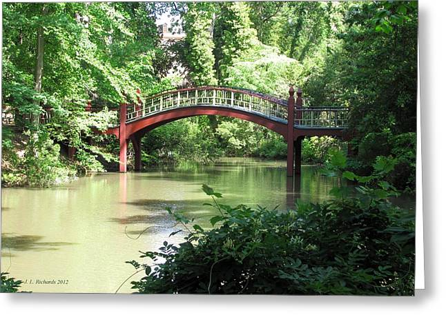 Crim Dell Bridge Iv Greeting Card