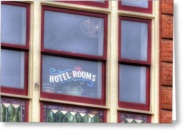 Cripple Creek Hotel Rooms 7880 Greeting Card