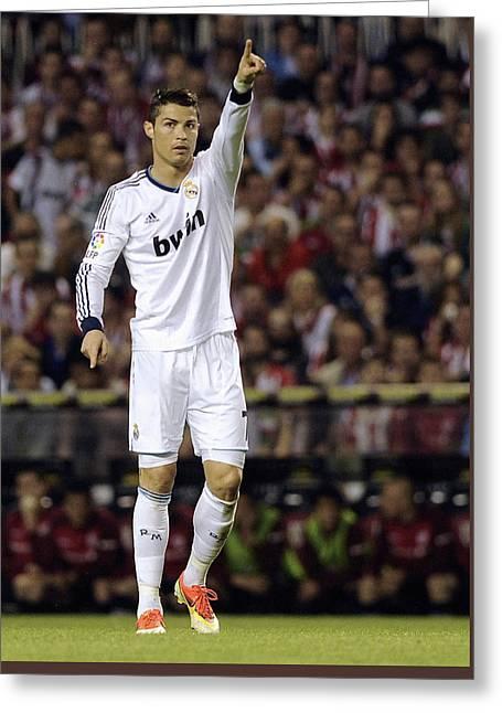 Cristiano Ronaldo 31 Greeting Card