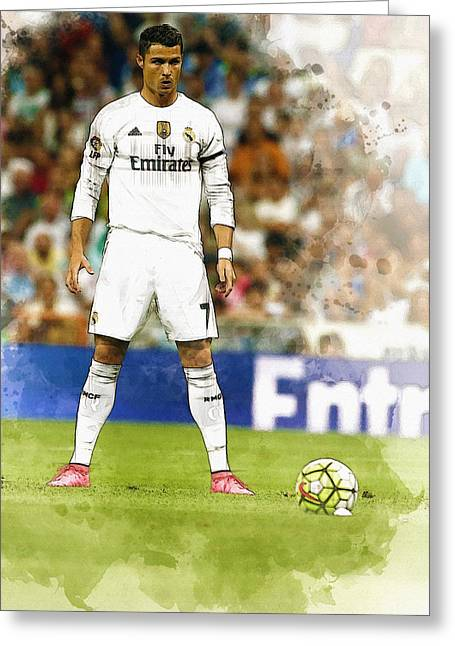 Cristiano Ronaldo Reacts Greeting Card