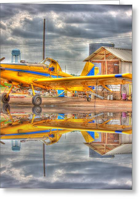 Crop Duster 001 Greeting Card