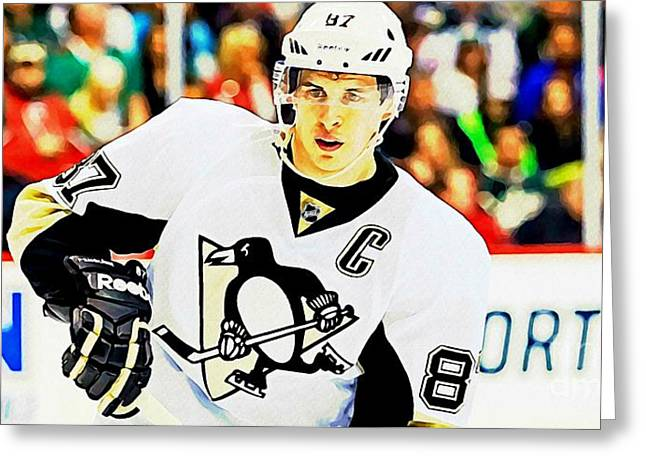Crosby Eighty Seven Greeting Card by John Malone