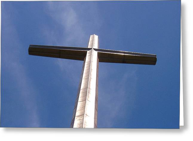Cross At St. Augustine Greeting Card