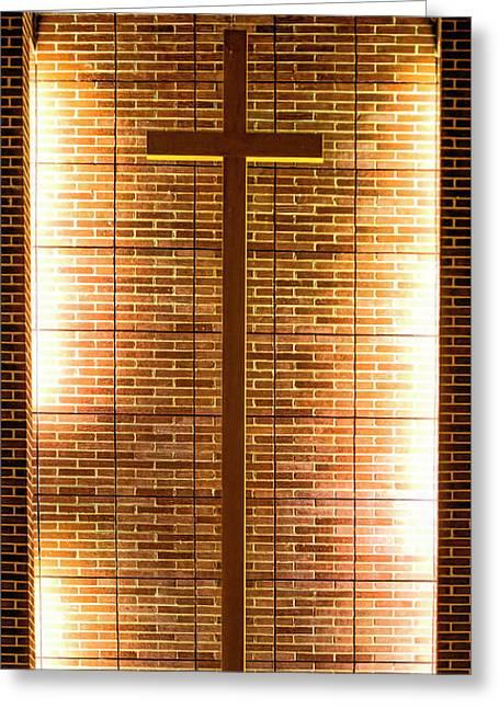 Cross - Bethany United Methodist  Church - Madison Greeting Card