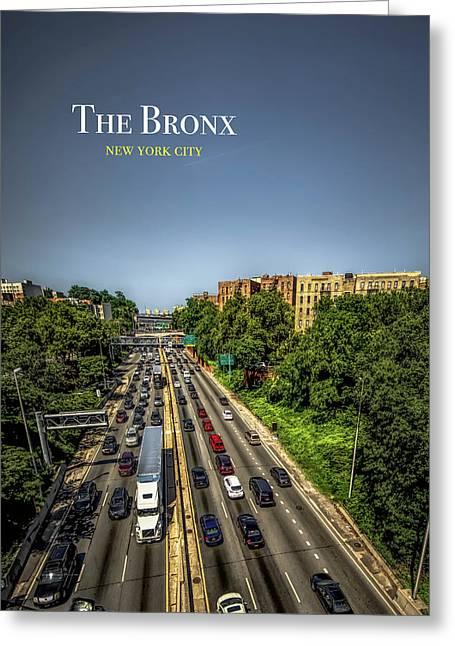 Cross Bronx Expressway Greeting Cards | Fine Art America