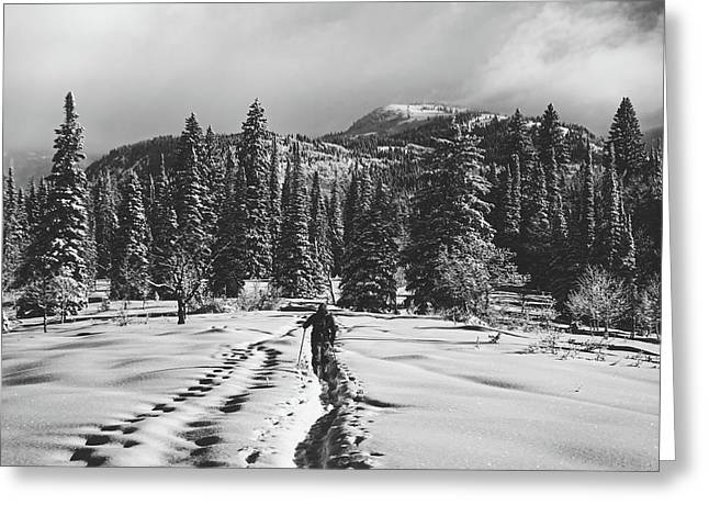Cross Country Adventure Greeting Card