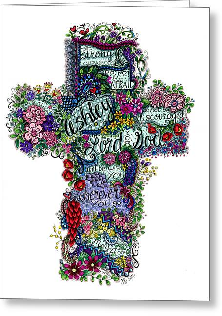Cross For Ashley Greeting Card