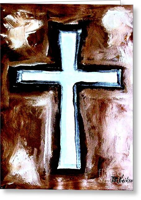 Cross For Me Greeting Card