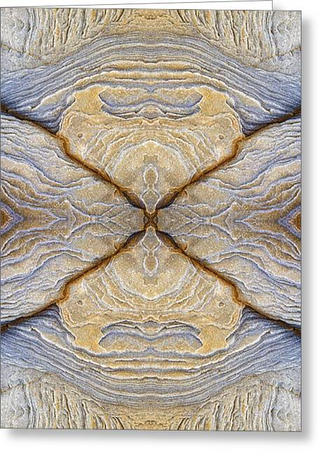 Cross Of Change Greeting Card by Tim Gainey