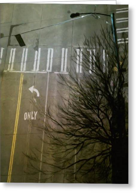 Crossing, From The Ninth Greeting Card