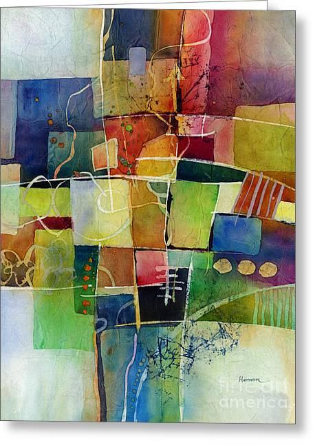 Crossroads 2 Greeting Card by Hailey E Herrera