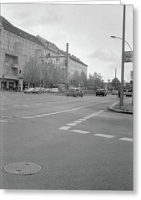 Crossroads In Prenzlauer Berg Greeting Card