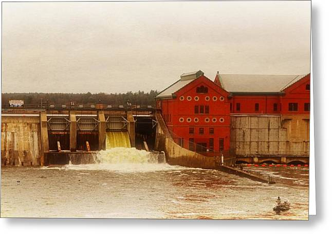 Croton Hydroelectric Plant Greeting Card