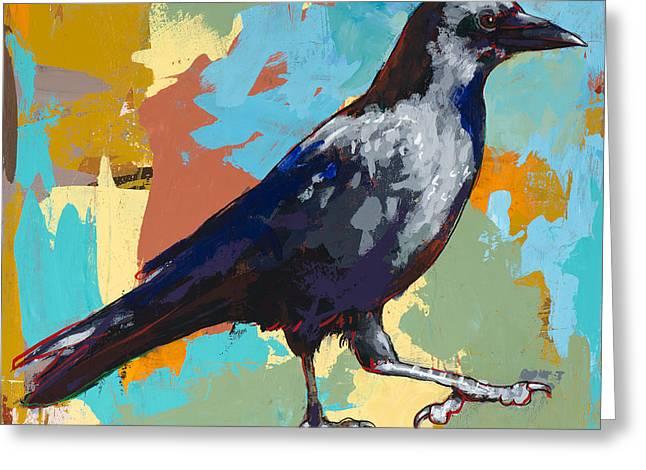 Crow #2 Greeting Card