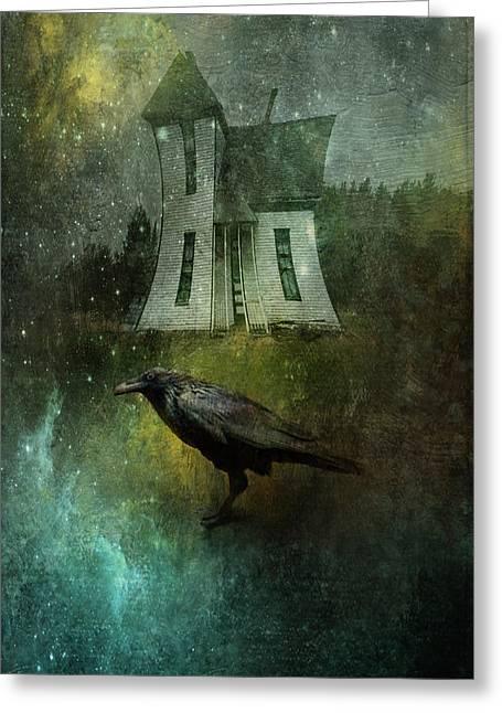 Crow House Greeting Card