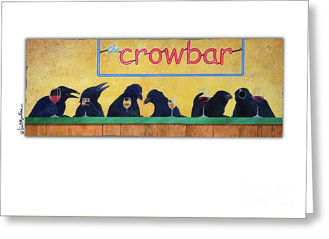Crowbar Greeting Card