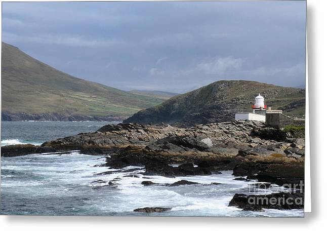 Crowell Point Lighthouse Greeting Card