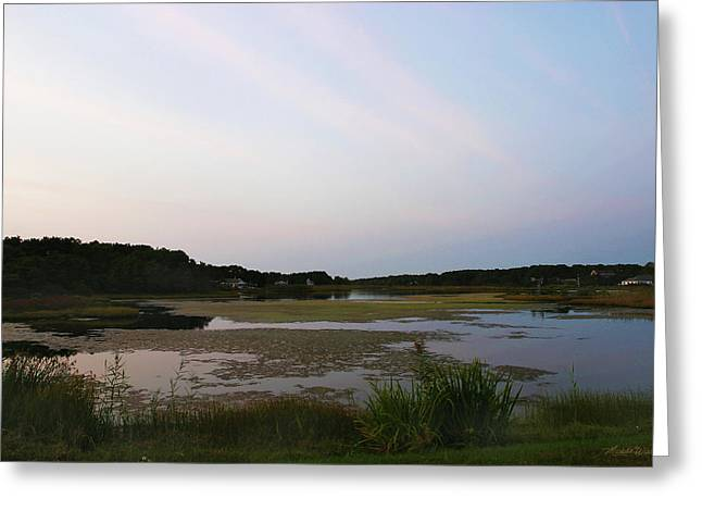 Crowell Pond South Yarmouth Cape Cod Massachusetts Greeting Card by Michelle Wiarda